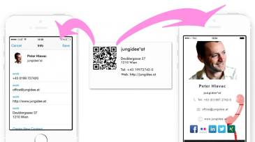 Using QR Codes on Business Cards