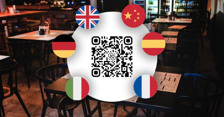 Multilingual QR Code PDF